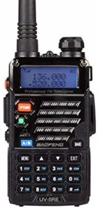This is an image of  BaoFeng BF-UV-5RE