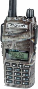 This is an image of BaoFeng UV-82HP walkie talkie , Camo