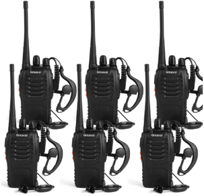 This is an image of talkie walkie ling reaval pack in black color