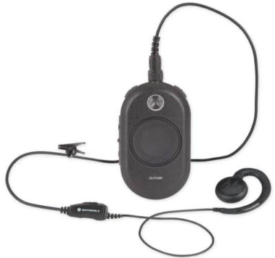 This is an image of walkie talkies motorola two way business in black color