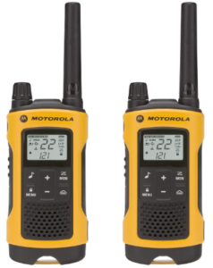 This is an image of talkie walkie motorala talkabout T400
