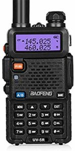 This is an image of Black Baofeng UV-5RH