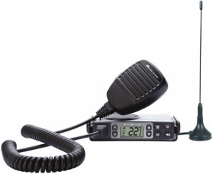 This is an image of black Midland MXT105 walkie talkie