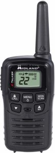 This is an image of black Midland T10 X Talker