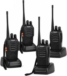 This is an image of Ansoko handheld radio