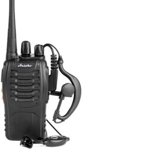 This is an image of Ansoko rechargeable walkie talkies for cruise