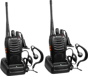 This is an image of  Arcshell Rechargeable Long Range Two-Way Radios