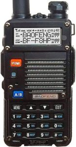 This is an image of a BaoFeng BF-F8HP walkie talkie