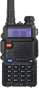 This is an image of BaoFeng UV-5R Dual Band Two Way Radio