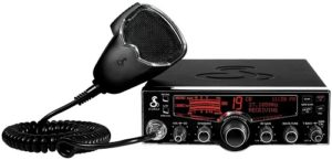 This is an image of a black Cobra 29 LX 40 channel CB Radio