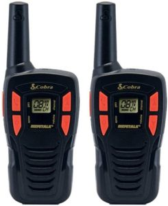 This is an image of Cobra CXT 145 Two way radio