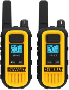 This is an image of DEWALT DXFRS300 Business Radio