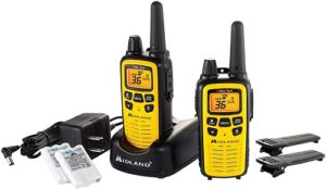 This is an image of a  Midland – LXT630VP3 walkie talkie