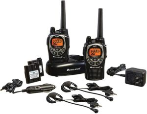 This is an image of Midland GXT1000VP4 Two-Way Radio