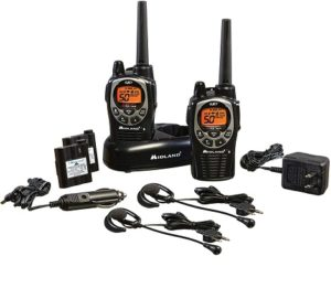 This is an image of Midland - GXT1000VP4 long range 2 way radio