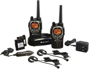 This is an image of Midland - GXT1000VP4 walkie talkie