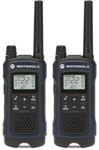 This is an image of a Motorola 22-Channel Weatherproof Two Way Radio