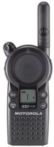This is an image of Motorola business cls1110 radio
