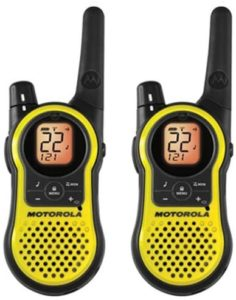 This is an image of Motorola MH230R Two-Way Radio
