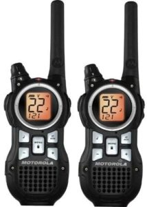 This is an image of a Motorola MR350R Ski Walkie Talkie