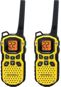 This is an image of a Motorola MS350R two way radio