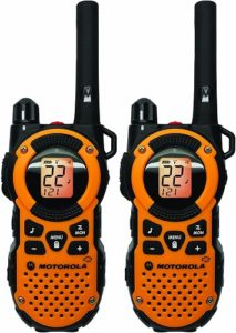 This is an image of Motorola MT350R FRS two-way radio