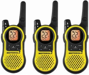 This is an image of a Motorola Mh230tpr walkie talkie