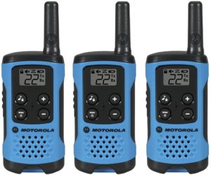 This is an image of Motorola T100TP Talkabout two-way radio