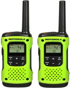 This is an image of a Motorola T600 Talkabout  long range two way radios