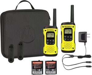 This is an image of Motorola T631 two way radio