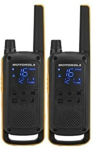 This is an image of a  Motorola TALKABOUT T82 Extreme walkie talkie