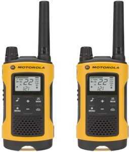 This is an image of a Motorola Talkabout T400 two way radio