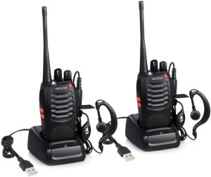 This is an image of Proster Rechargeable Walkie Talkies Kids 16 Channel