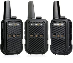 Tis is an image of   Retevis RT15 Small Walkie Talkies