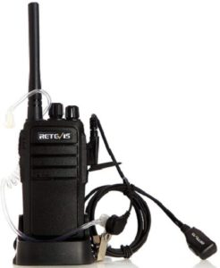 This is an image of Retevis RT21 Two Way radio
