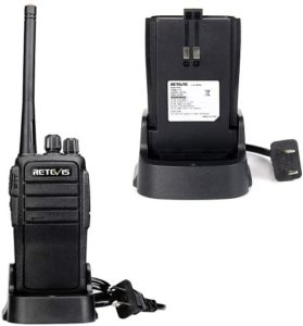This is an image of Retevis RT21 two-way radio