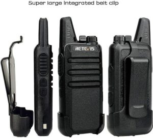 This is an image of Retevis RT22 Two Way Radio