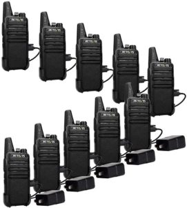 This is an image of Retevis RT22 Two Way Radios