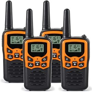This is an image of Rivins RV 7 long-range two-way radio