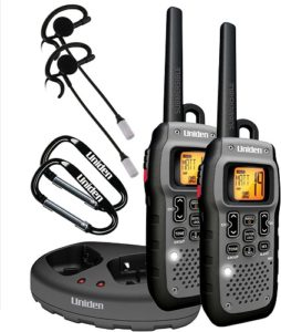 This is an image of a Uniden Gmr5089 long range walkie talkie