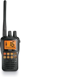 This is an image of Uniden MHS75 two way radio