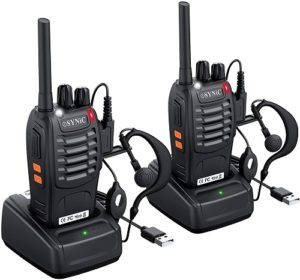 This is an image of eSynic Rechargeable Walkie Talkies
