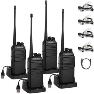 This is an image of Radioddity GA-2S Long Range Walkie Talkies 4 pack