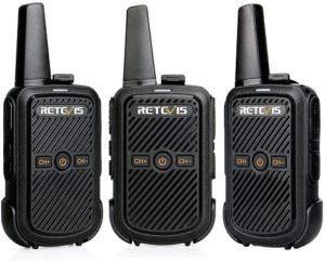 This is an image of Retevis RT15 Small Walkie Talkies