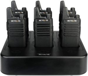 This is an image of Retevis RT22 Walkie Talkies