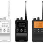 Radio transceivers stock illustration